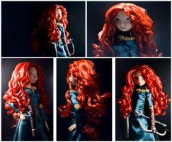 My 2nd Doll: Merida by phtoygraphy