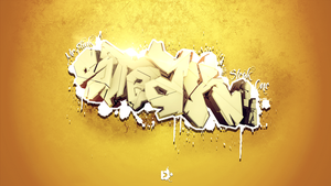 Steak Graffiti by Flink-Design