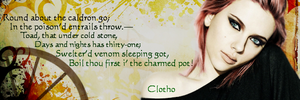Signature - Clotho by blackhavikgraphics