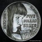 'Five Dollar Shake' Pulp Fiction Uma Thurman Hobo by shaun750
