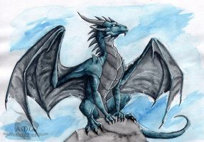 Blue Dragon by Naseilen