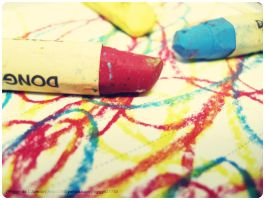 Colour Crayons by peggyn21789