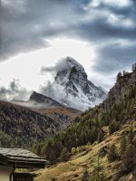 Toblerone Mountain by juanpatag