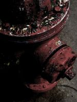 Decaying Fire hydrant by CreativeMind08