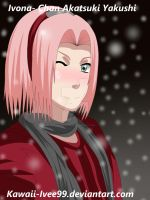 Winter Time - Sakura Haruno by Kawaii-Ivee99