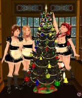 The maids' Christmas by Chronophontes