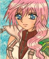 Lightning Farron shoujo version by dagga19