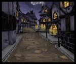 Gilneas City Color by creampuffy