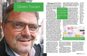 Page Spread Oliviero Toscany by unknowndesigner