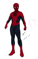 The Web of Spider-man: 1st Suit Concept by kyomusha