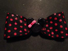 Minnie Mouse Bow 1 by Adriellovesart