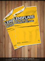 Faux Pas 1: Lensflare Ad by aanoi