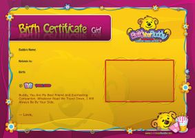BYB Certificate For kids by Aljonaidy
