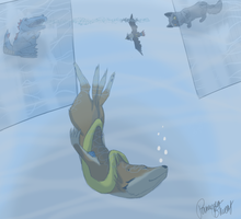 SA: Floatzel used DIVE by Pamuya-Blucat