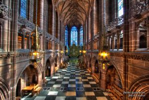 Liverpool Cathedral by Nesigyel