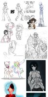 Did Someone Say, SKETCH DUMP?! by Sketched-UP