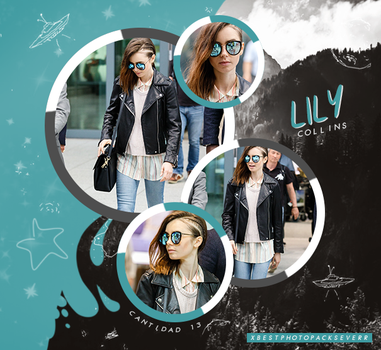 Photopack 26831 - Lily Collins by xbestphotopackseverr