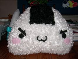 Warrior Onigiri Pillow 2 by LiLMoon