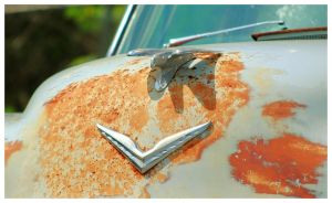 An Old Chrysler Hood Ornament by TheMan268