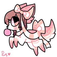 bubble gum puppy adopt CLOSED by puqqie
