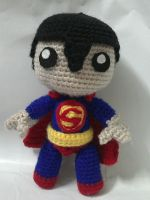 Super man sackboy by NVkatherine