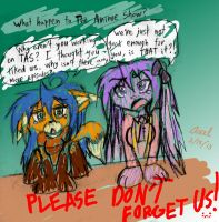 Don't Forget The Anime Show!! D: by Axel-DK64