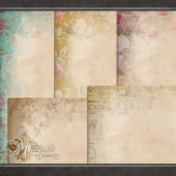Shabby Chic Papers by DaydreamersDesigns
