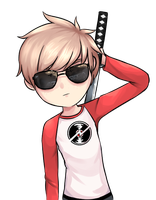 Dave Strider by Drawn-Mario