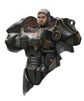 Fallout 4 Paladin Danse by thevampiredio