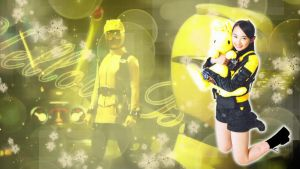 Yellow Buster Wallpaper by varumo
