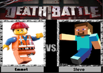 Death Battle Emmet vs Steve by Gatlinggundemon9