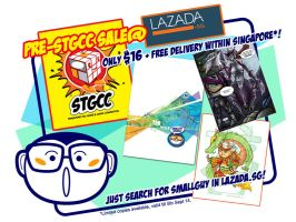 Pre-STGCC SALE @Lazada by smallguydoodle
