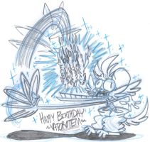 Vap gets the cake by EeyorbStudios