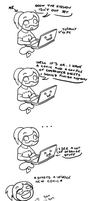 Me being stupid by ChibiCorporation