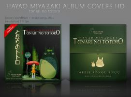 Tonari no Totoro Album Covers HD by shinobireverse