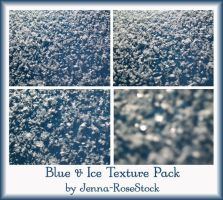 Blue and Ice Texture Pack by Jenna-RoseStock