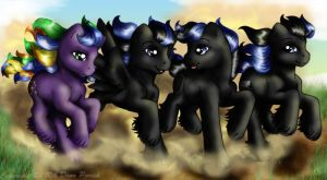 Four Brothers by FlyingPony