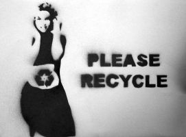 Please Recycle by Cique
