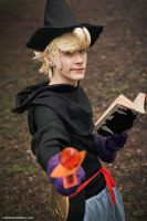 Bravely Default ~ Ringabel Black Mage by YamatoTaichou