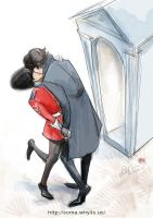 John is in the Queen's Guard by somachiou
