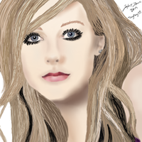 Avril Lavigne by TayMay135