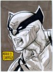 Classic Wolverine PSC ACEO by mdavidct
