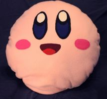Kirby Pillow by TheCuraga