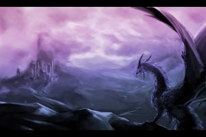 Dragon Desert by tiffa