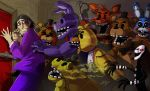 FNAF - Purple Guy's nightmare 2 by LadyFiszi