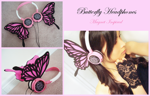 Butterfly Headphones by Feyon