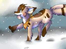 Snow Mayley by GeoTheHippo