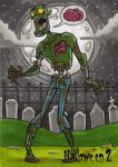 Hallowe'en 2 Sketch Card - Mike Hartigan 2 by Pernastudios