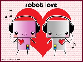 Robot Love by adrybsk