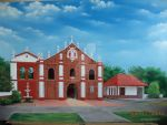 St. Anne Parish Church, oil on canvas by kurdz21669
